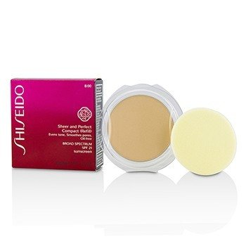 Shiseido Sheer & Perfect Compact Foundation SPF 21 (Refill) - # B00 Very Light Beige