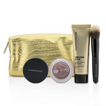BareMinerals Take Me With You Complexion Rescue Try Me Set - # 09 Chestnut