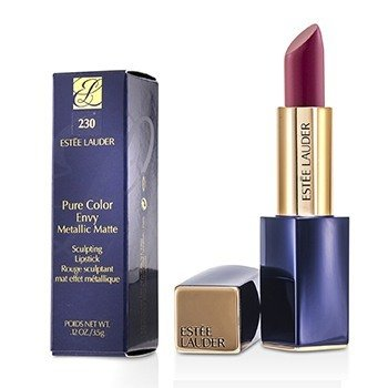 Estee Lauder Pure Color Envy Metallic Matte Sculpting Lipstick - # 230 Crush It