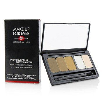 Make Up For Ever Pro Sculpting Brow Palette - # 1 (Harmony 1)