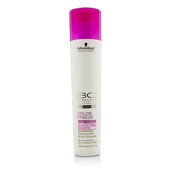 Schwarzkopf BC Color Freeze pH 4.5 Sulfate-Free Shampoo (For Coloured Hair)