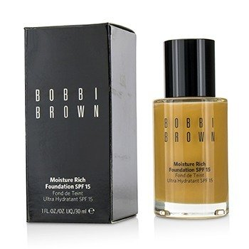 Bobbi Brown Moisture Rich Foundation SPF15 - #5.5 Warm Honey