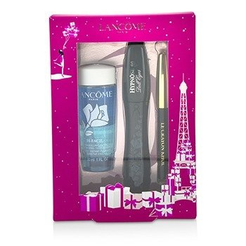 Lancome Hypnose Doll Eyes Set: 1x Hypnose Doll Eyes Mascara + 1x Mini Le Crayon Khol + 1x Bi Facil