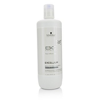Schwarzkopf BC Excellium Q10+ Pearl Beautifying Shampoo (For Silver and White Hair)
