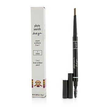 Sisley Phyto Sourcils Design 3 In 1 Brow Architect Pencil - # 2 Chatain