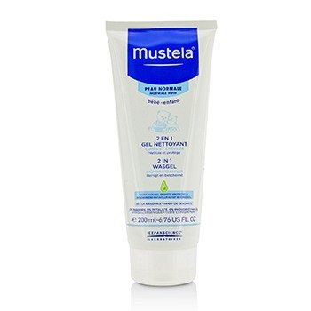 Mustela 2 In 1 Body & Hair Cleansing gel - For Normal Skin
