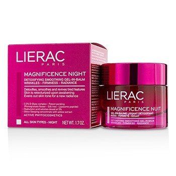 Lierac Magnificence Night Detoxifying Smoothing Gel-In-Balm