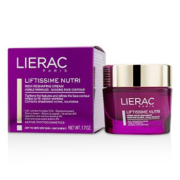 Lierac Liftissime Nutri Rich Reshaping Cream (For Dry To Very Dry Skin)