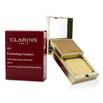 Clarins Everlasting Compact Foundation SPF 9 - # 114 Cappuccino