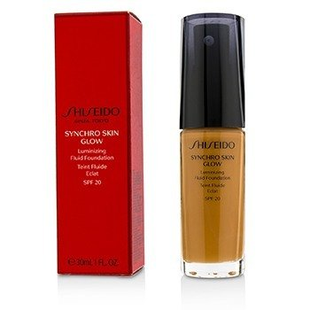 Shiseido Synchro Skin Glow Luminizing Fluid Foundation SPF 20 - # Neutral 5