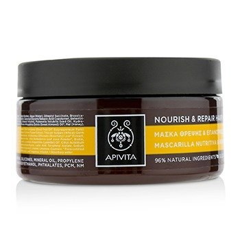 Nourish   Repair Hair Mask with Olive   Honey (For Dry-Damaged Hair). color 224dc0fcc49