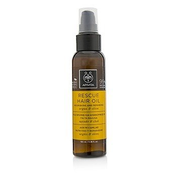 Apivita Rescue Hair Oil with Argan & Olive (For All Hair Types)