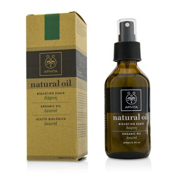 Apivita Natural Organic Laurel Oil