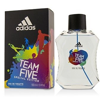 Adidas Team Five Eau De Toilette Spray (Special Edition)