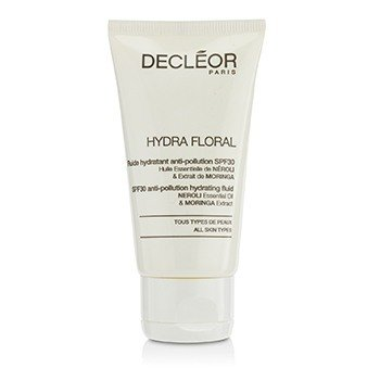 Decleor Hydra Floral Neroli & Moringa Anti-Pollution Hydrating Fluid SPF30 - Salon Product