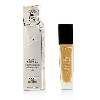 Lancome Teint Miracle Hydrating Foundation Natural Healthy Look SPF 15 - # 035 Beige Dore (Box Slightly Damaged)