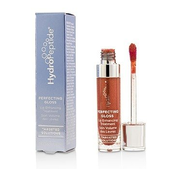 HydroPeptide Perfecting Gloss - Lip Enhancing Treatment - # Santorini Red