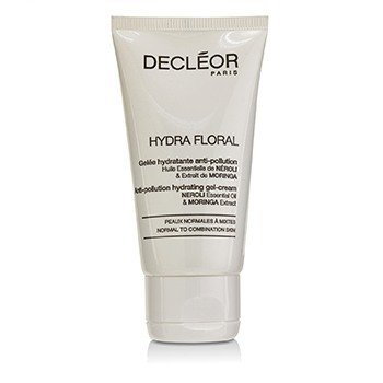 Decleor Hydra Floral Neroli & Moringa Anti-Pollution Hydrating Gel-Cream - Normal to Combination Skin (Salon Product)