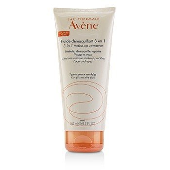 Avene 3 In 1 Make-Up Remover (Face & Eyes) - For All Sensitive Skin