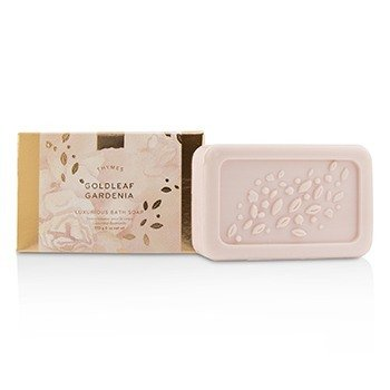 Thymes Goldleaf Gardenia Luxurious Bath Soap