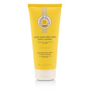 Roger & Gallet Sublime Or Perfumed Body Cream