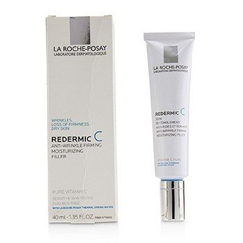 La Roche Posay Redermic C Daily Sensitive Skin Anti-Aging Fill-In Care - Dry Skin (Box Slightly Damaged)