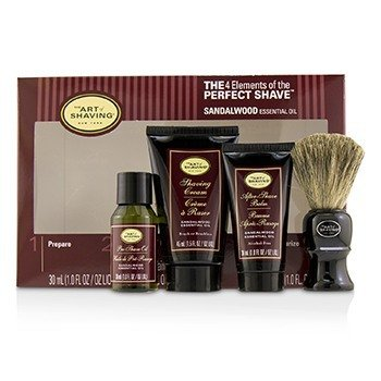 The Art Of Shaving The 4 Elements of the Perfect Shave Mid-Size Kit - Sandalwood