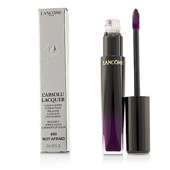 Lancome LAbsolu Lacquer Buildable Shine & Color Longwear Lip Color - # 490 Not Afraid