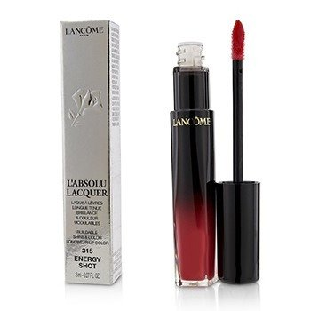Lancome LAbsolu Lacquer Buildable Shine & Color Longwear Lip Color - # 315 Energy Shot