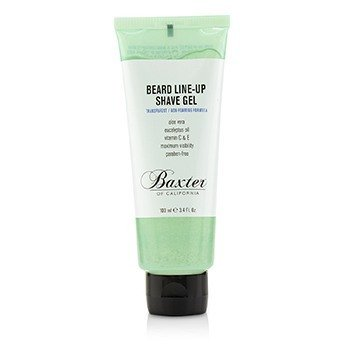 Baxter Of California Beard Line-Up Shave Gel (Transparent/Non-Foaming Formula)