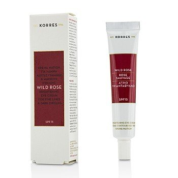 Korres Wild Rose Brightening Eye Cream SPF15 (Exp. Date 09/2018)