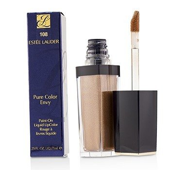 Estee Lauder Pure Color Envy Paint On Liquid LipColor - # 108 Gold Dipped (Metallic)