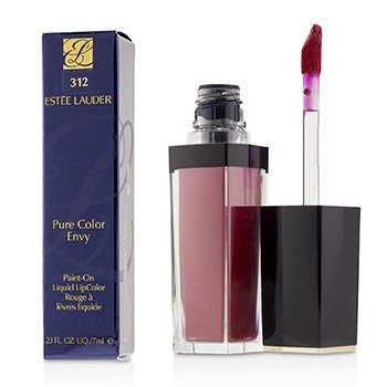 Estee Lauder Pure Color Envy Paint On Liquid LipColor - # 312 Liquid Tulip (Metallic)