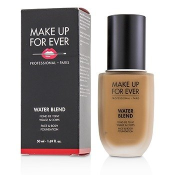 Make Up For Ever Water Blend Face & Body Foundation - # Y445 (Amber)