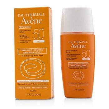 Avene Ultra-Light Hydrating Face Sunscreen Lotion SPF 50+