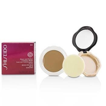 Shiseido Sheer & Perfect Compact Foundation SPF 21 (Case + Refill) - # B60 Natural Deep Beige