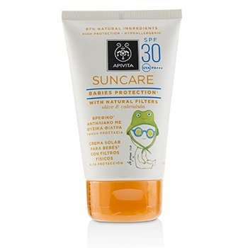 Apivita Suncare Babies Protection SPF 30 With Natural Olive & Calendula