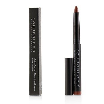 Youngblood Color Crays Matte Lip Crayon - # Redwood