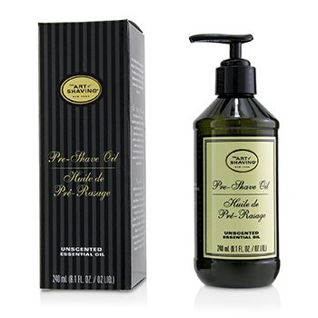 The Art Of Shaving Pre-Shave Oil - Unscented (With Pump)