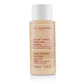 Clarins Water Comfort One-Step Cleanser With Peach Essential Water - For Normal or Dry Skin