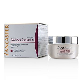 Lancaster Total Age Correction Amplified - Anti-Aging Rich Day Cream & Glow Amplifier