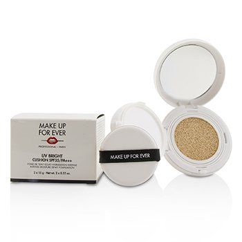 Make Up For Ever UV Bright Cushion SPF35/PA+++ - # Y215 Yellow Alabaster