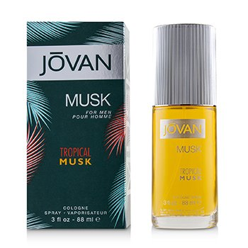 Jovan Tropical Musk Cologne Spray