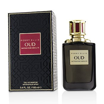 Perry Ellis Oud Saffron Rose Absolute Eau De Parfum Spray
