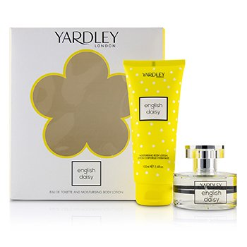 Yardley London Daisy Coffret: Eau De Toilette Spray 50ml + Moisturising Body Lotion 200ml
