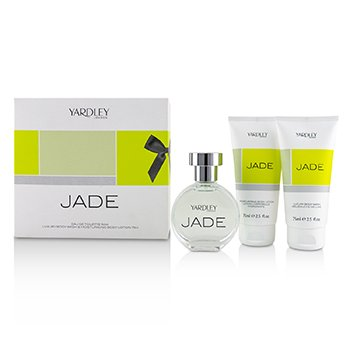 Yardley London Jade Coffret: Eau De Toilette Spray 50ml + Luxury Body Wash 75ml + Moisturising Body Lotion 75ml