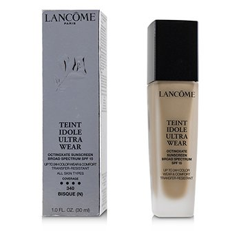 Lancome Teint Idole Ultra 24H Wear & Comfort Fdn SPF 15 - # 340 Bisque N (US Version)
