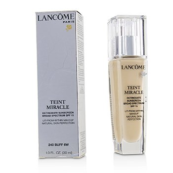 Lancome Teint Miracle Natural Skin Perfection SPF 15 - # Buff 6W (US Version)