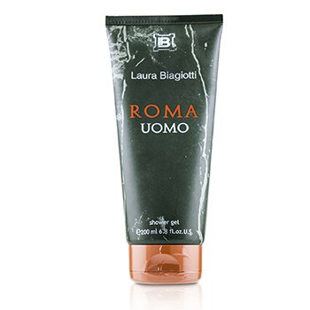 Laura Biagiotti Roma Uomo Shower Gel (New Packing)
