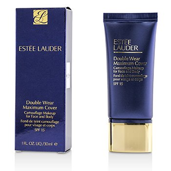 Estee Lauder Double Wear Maximum Cover Camouflage Make Up (Face & Body) SPF15 - #3W2 Cashew
